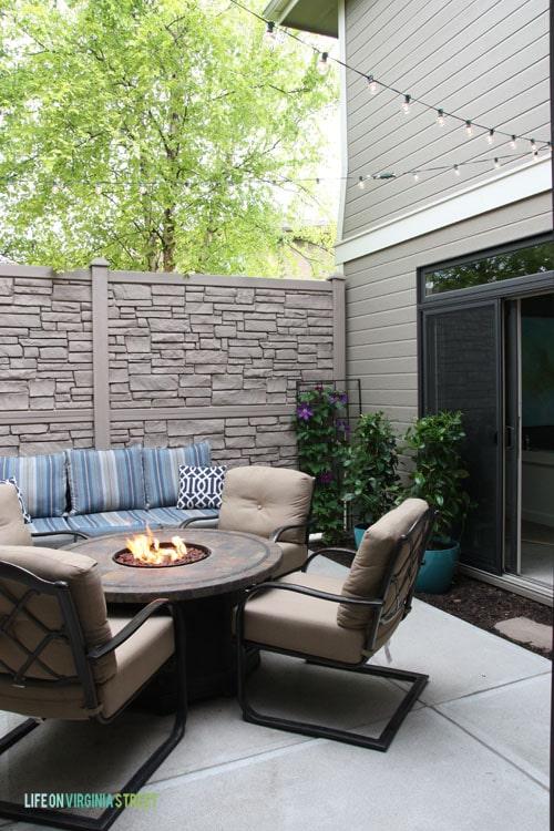Summer Home Tour - Courtyard - Life On Virginia Street