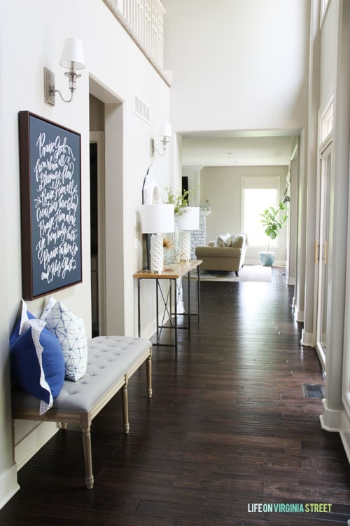 Summer Home Tour - Hallway - Life On Virginia Street