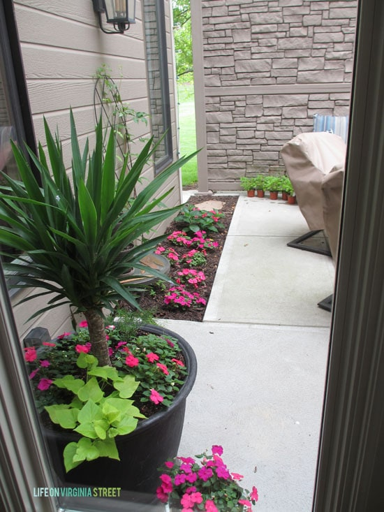 Summer Home Tour - Hallway View of Courtyard - Life On Virginia Street