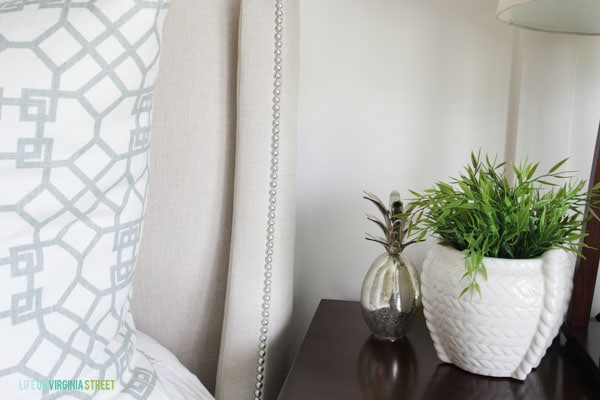 Summer Home Tour - Master Bedroom Details - Life On Virginia Street