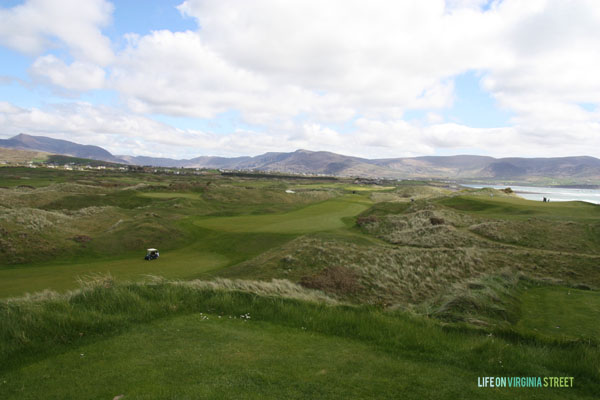 Waterville Golf Ireland view - Life On Virginia Street
