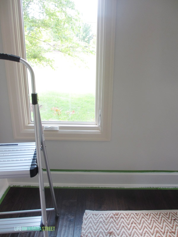Dining Room Baseboards - Life On Virginia Street
