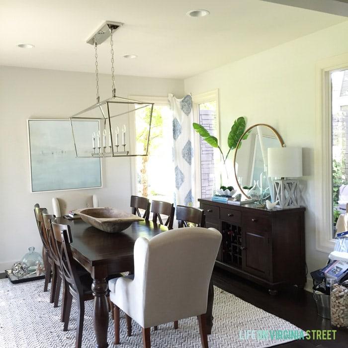 Dining Room In Progress - Life On Virginia Street