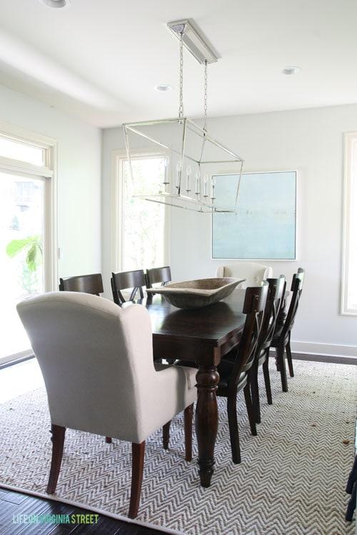 Dining Room Light Fixture - Life On Virginia Street