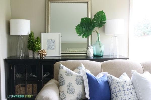 Summer Home Tour - Living Room - Life On Virginia Street