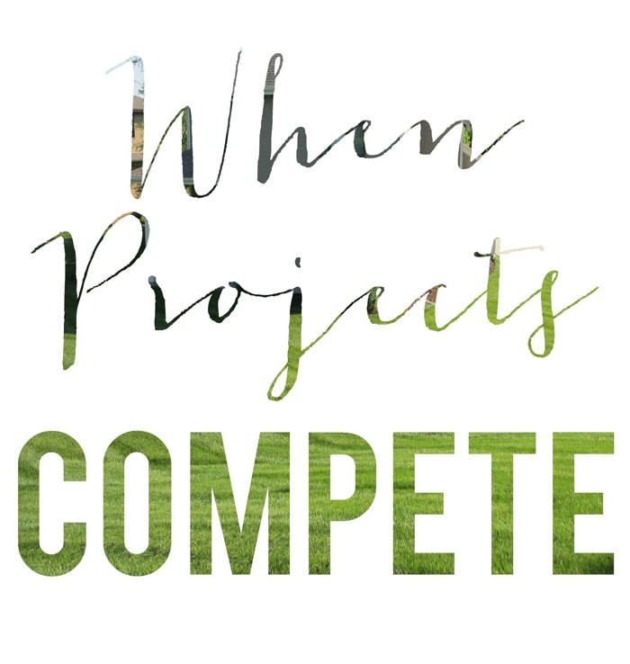 When Projects Compete