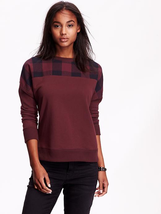 Buffalo Check Sweatshirt
