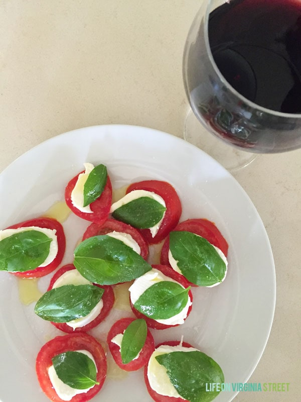 Caprese Salad - Life On Virginia Street