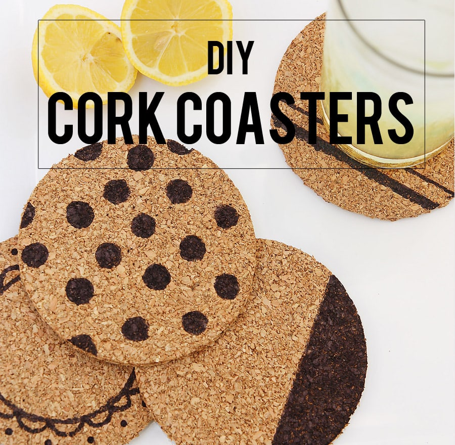 DIY Summer School: Cork Coasters
