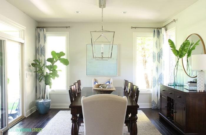 Dining Room Makeover Reveal - Life On Virginia Street