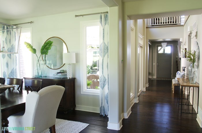 Dining Room with Hallway View - Life On Virginia Street