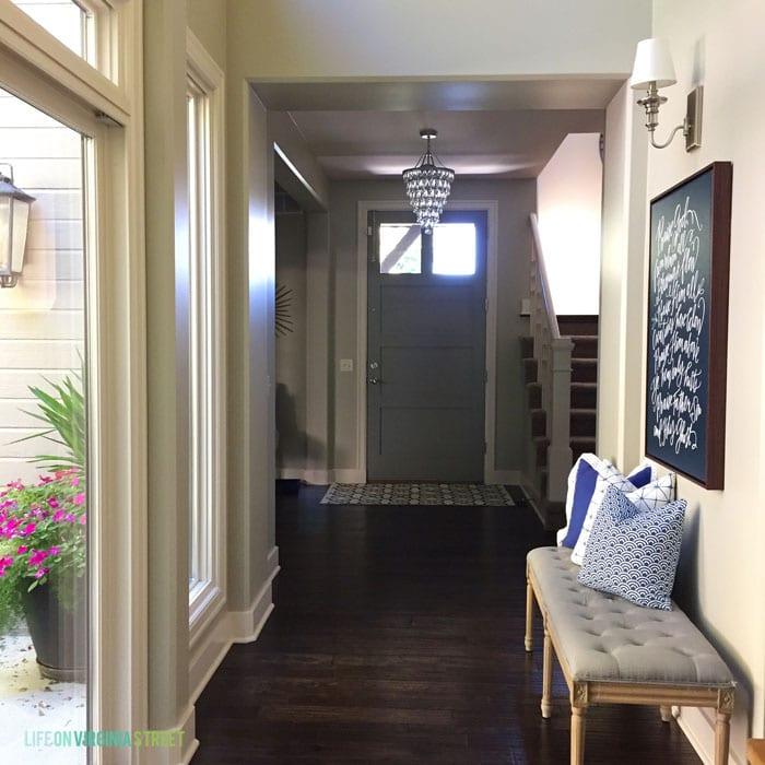 Entryway - Life On Virginia Street