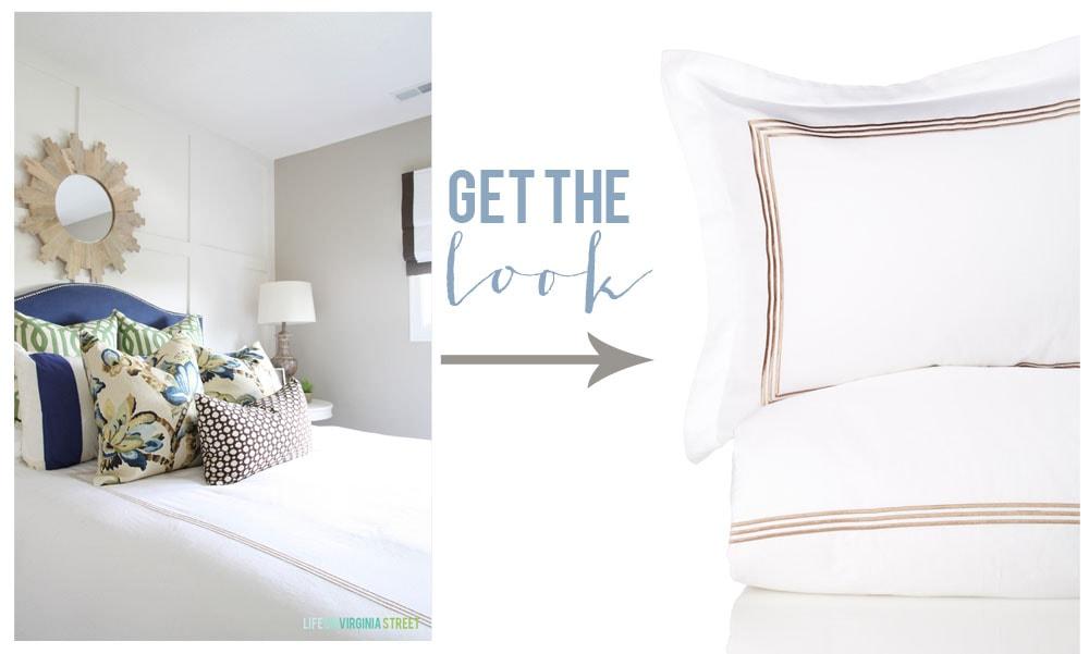 Get the Look - Bedding - Life On Virginia Street
