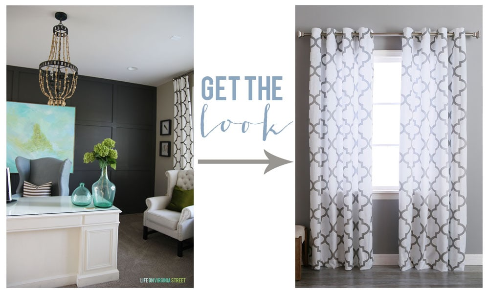 Get the Look - Drapes - Life On Virginia Street