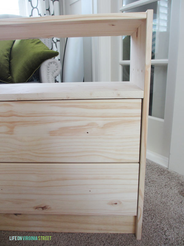 IKEA Rast Hack Shelf Install - Life On Virginia Street