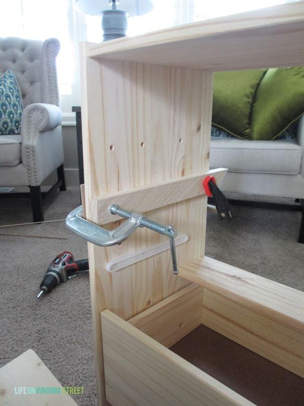IKEA Rast with clamps for shelf - Life On Virginia Street