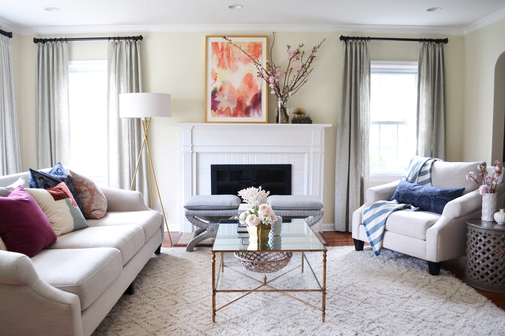 {Living Room Makeover}