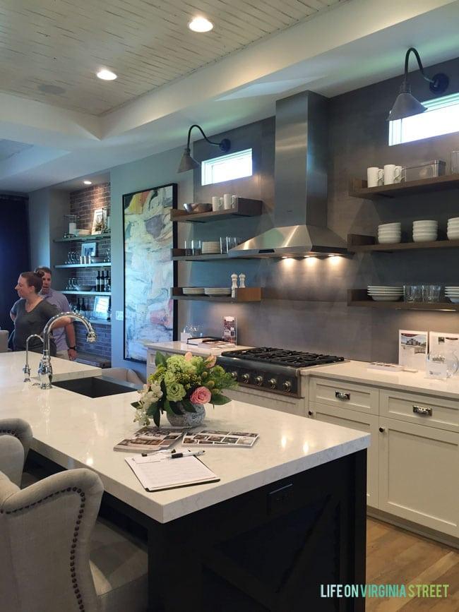 Omaha Street Of Dreams Kitchen Life On Virginia Street Kitchen Cabinets Omaha