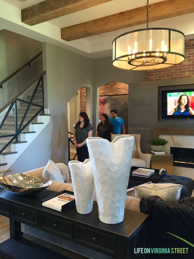 Omaha Street of Dreams Living Room - Life On Virginia Street