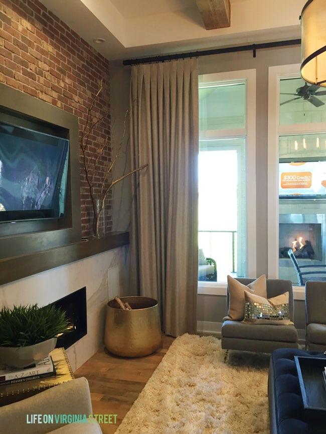 Omaha Street of Dreams Living Room View - Life On Virginia Street
