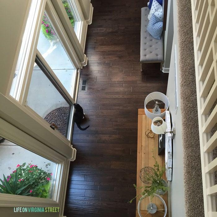 Upstairs View - Life On Virginia Street