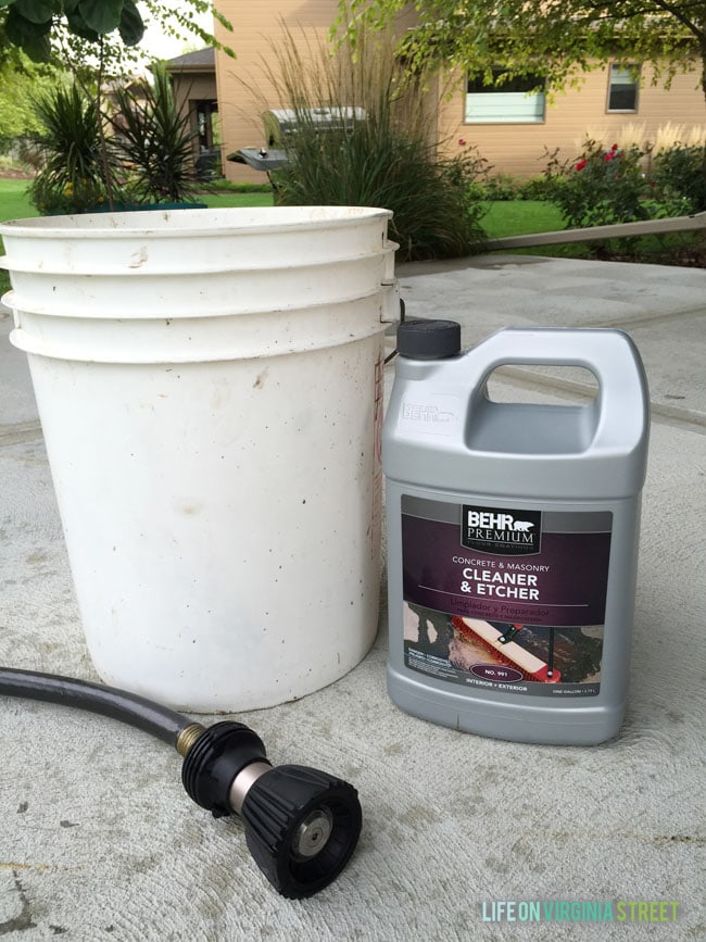 Behr Concrete Cleaner