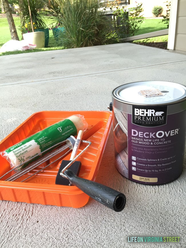 Wood Deck Paint Reviews Behr Deck Over Home Design Idea