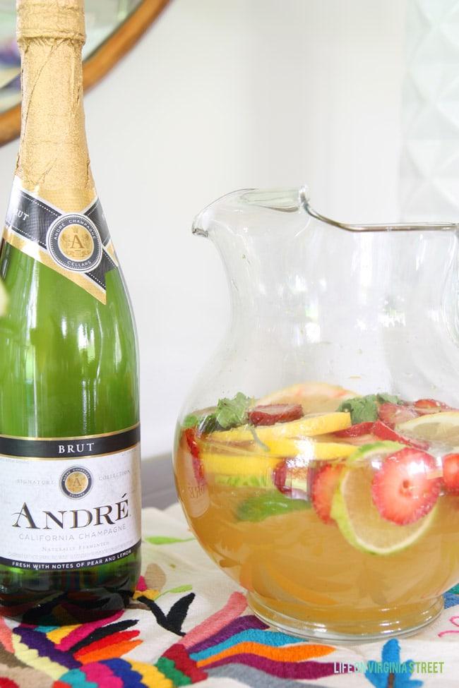 Champagne Sangria - Life On Virginia Street