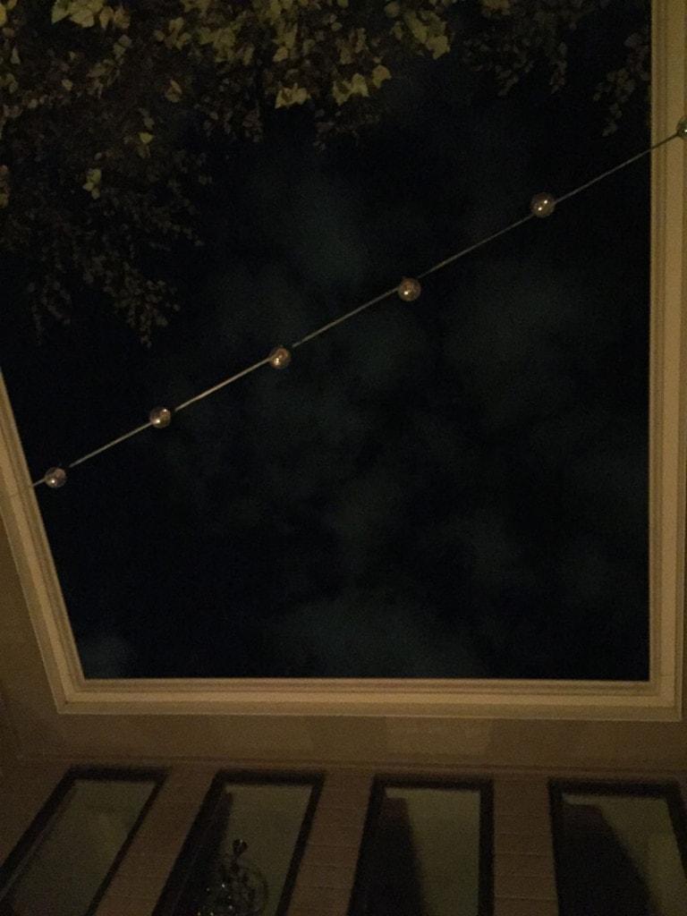 Courtyard String Lights