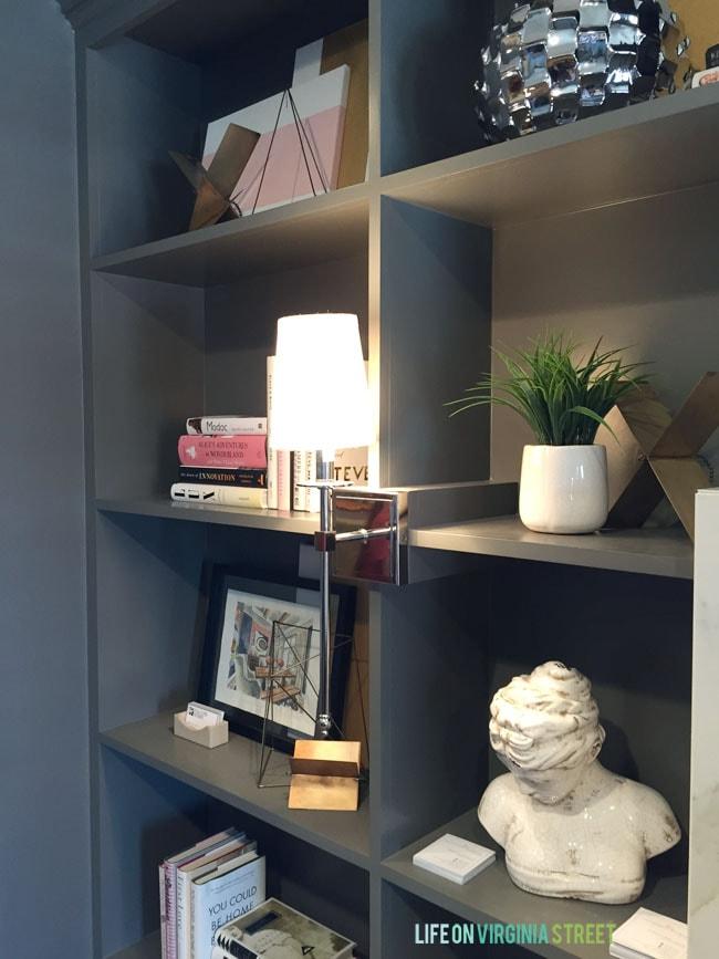 Omaha Street of Dreams Reading Room Shelves - Life On Virginia Street