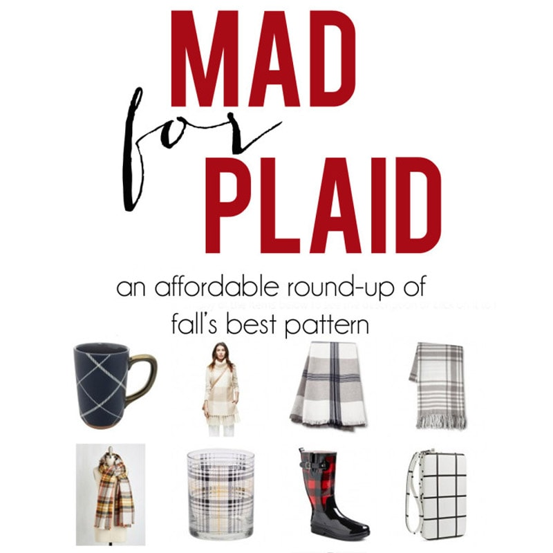 Weekend Recap + India Hicks + Mad for Plaid