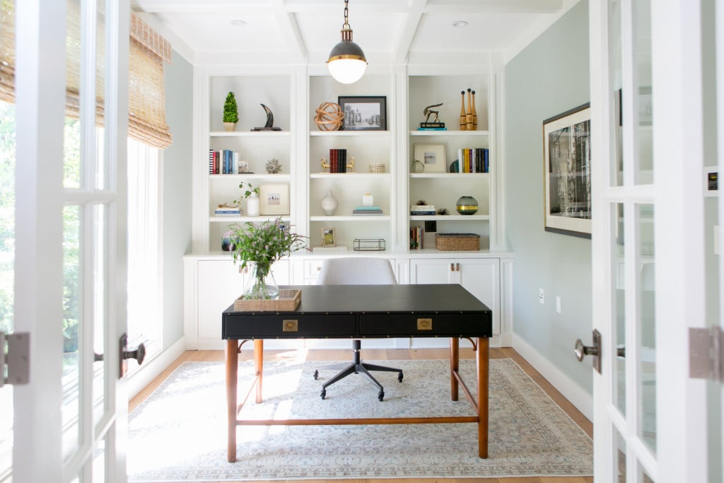 Woodside Home Office and Home Tour