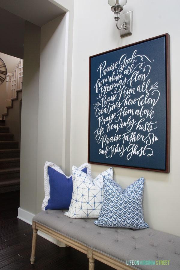 DIY Napkin Pillows - Life On Virginia Street