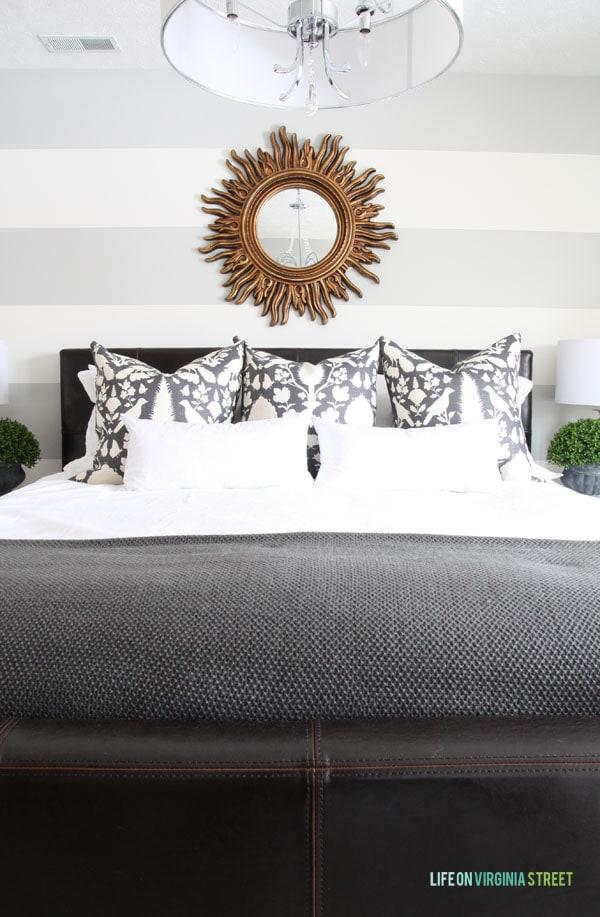 Guest Bedroom Designer Pillows - Life On Virginia Street