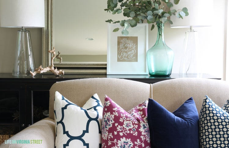 Living Room Details - Fall Home Tour - Life On Virginia Street
