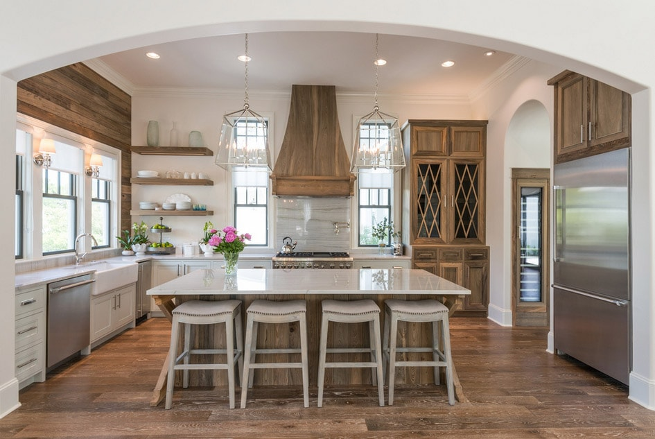 Old Seagrove Homes Kitchen