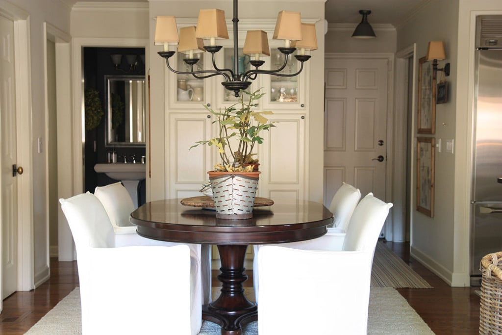 Breakfast Nook Chairs - Neutral Home Tour - Life On Virginia Street