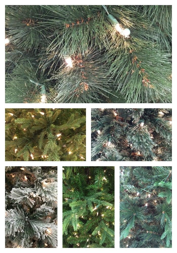 Christmas Tree Needle Variations
