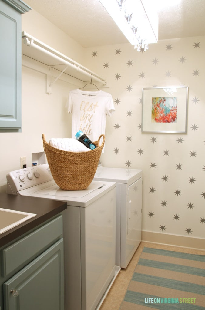 Fall Laundry Room - Life On Virginia Street