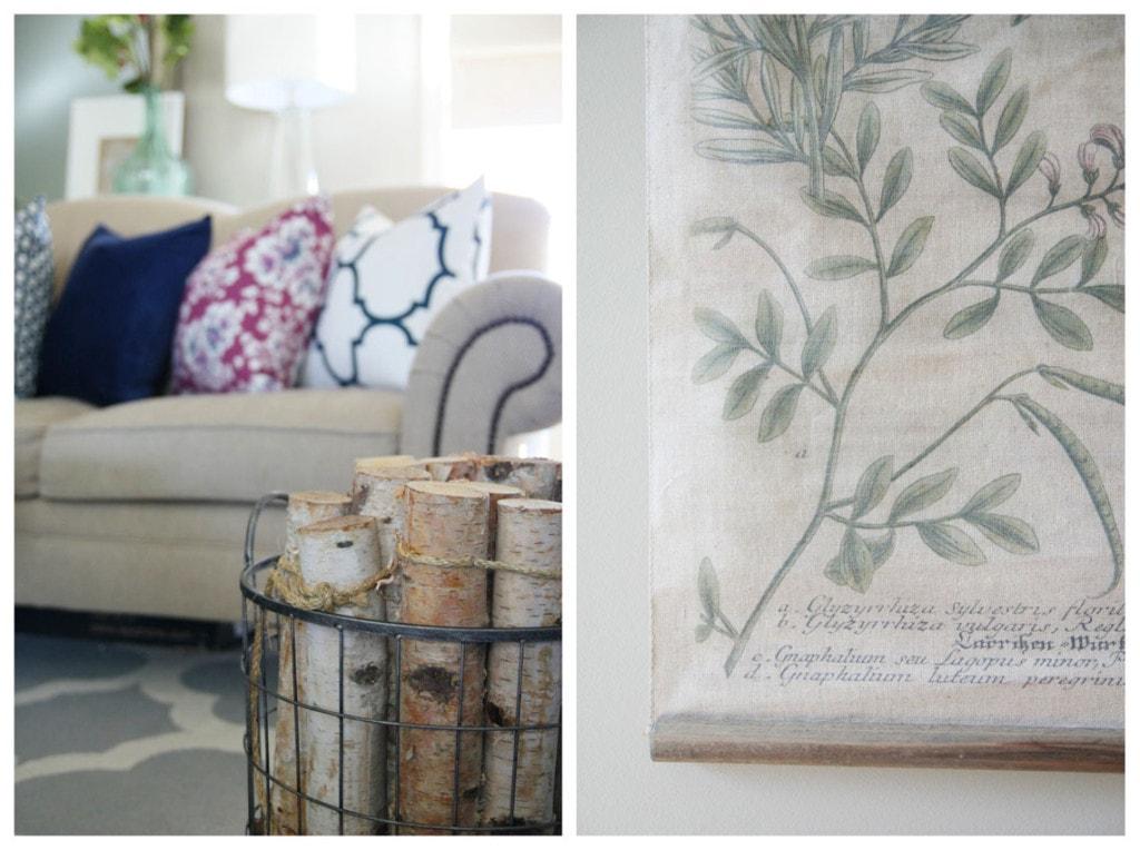 Fall Living Room Details - Life On Virginia Street