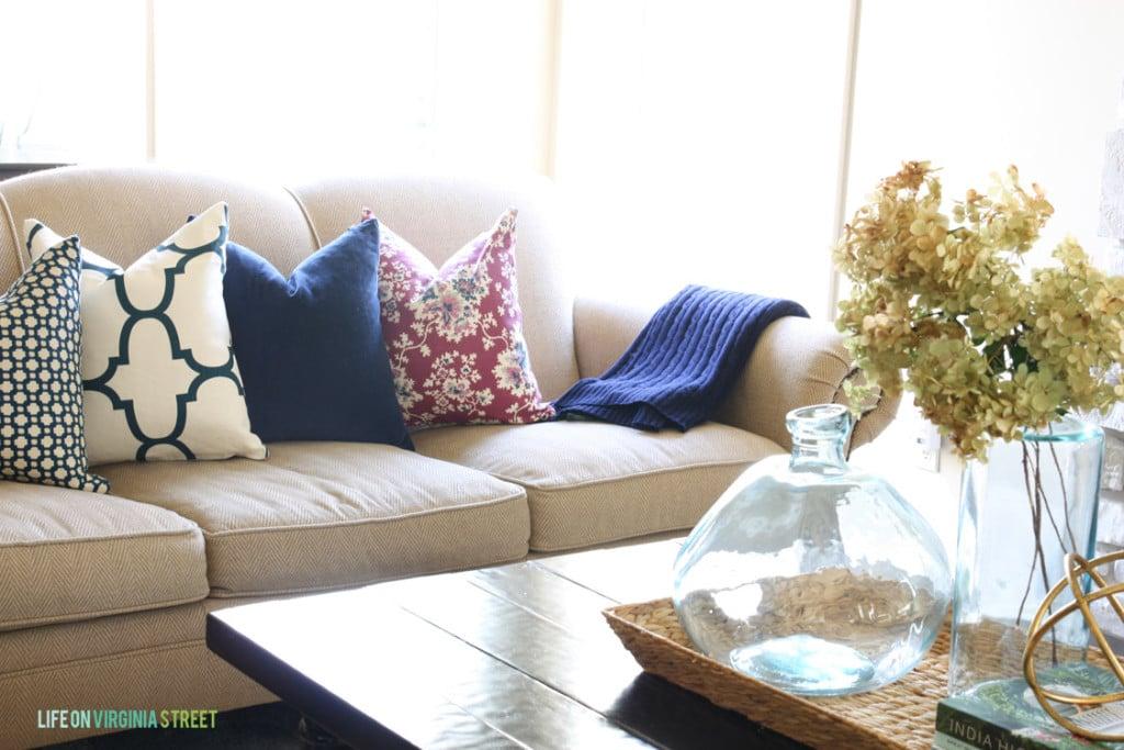 Fall Living Room - Life On Virginia Street