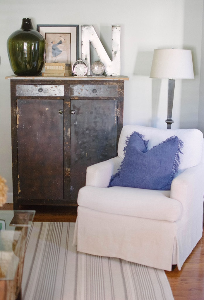 Front Room Chair - Neutral Home Tour - Life On Virginia Street