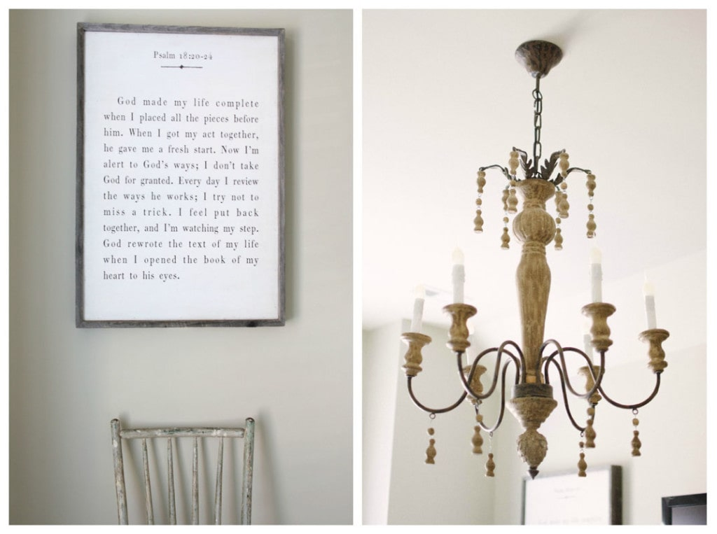 Guest Bedroom Lighting and Art - Neutral Home Tour - Life On Virginia Street