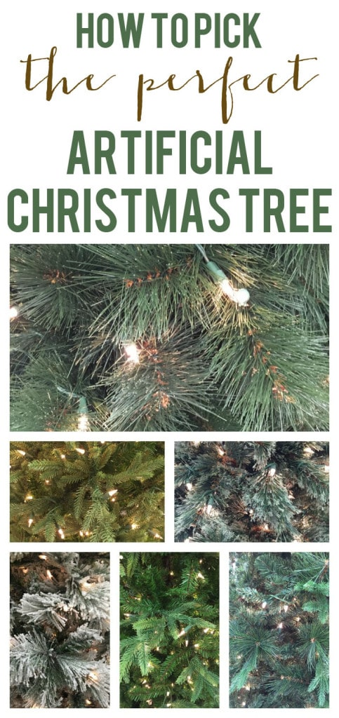 How to Pick the Perfect Arificial Christmas Tree - Life On Virginia Street