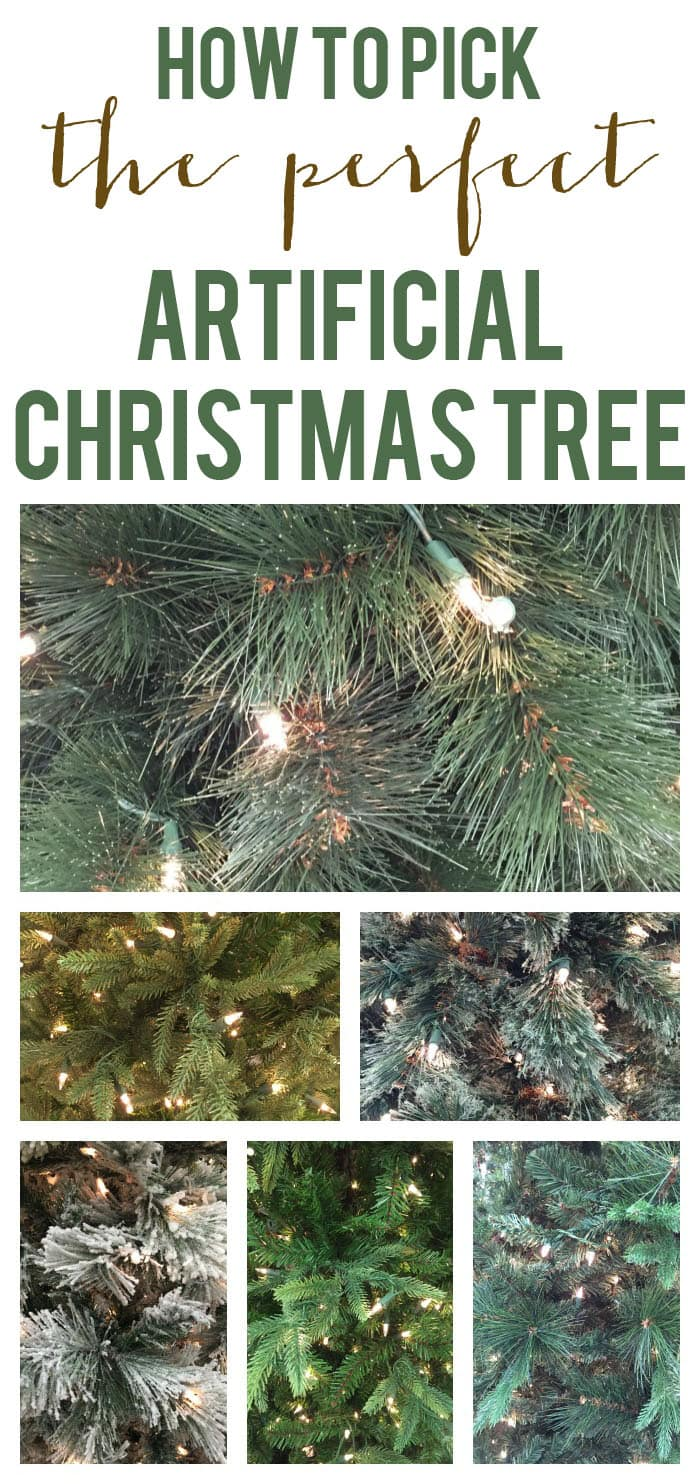 How To Pick The Perfect Artificial Christmas Tree Life On Virginia Street