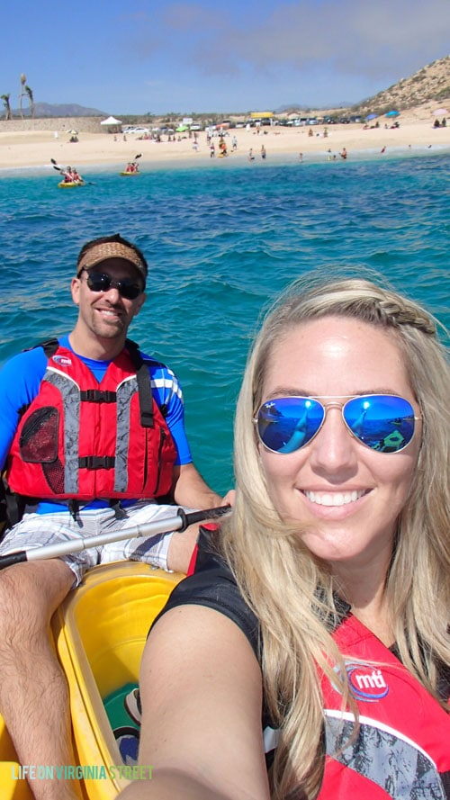 February 2015 - Kayaking in Cabo San Lucas, Mexico