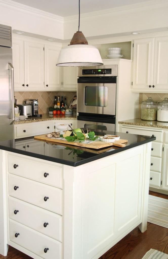 Kitchen Island - Neutral Home Tour - Life On Virginia Street