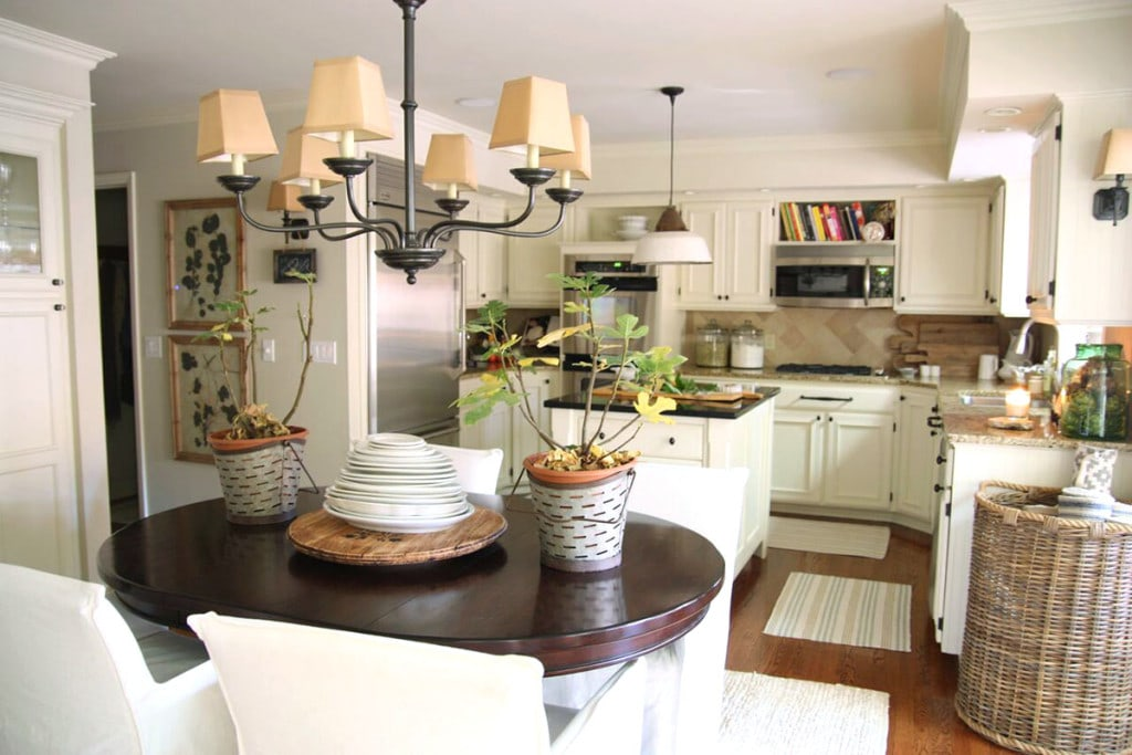 Kitchen and Breakfast Nook - Neutral Home Tour - Life On Virginia Street