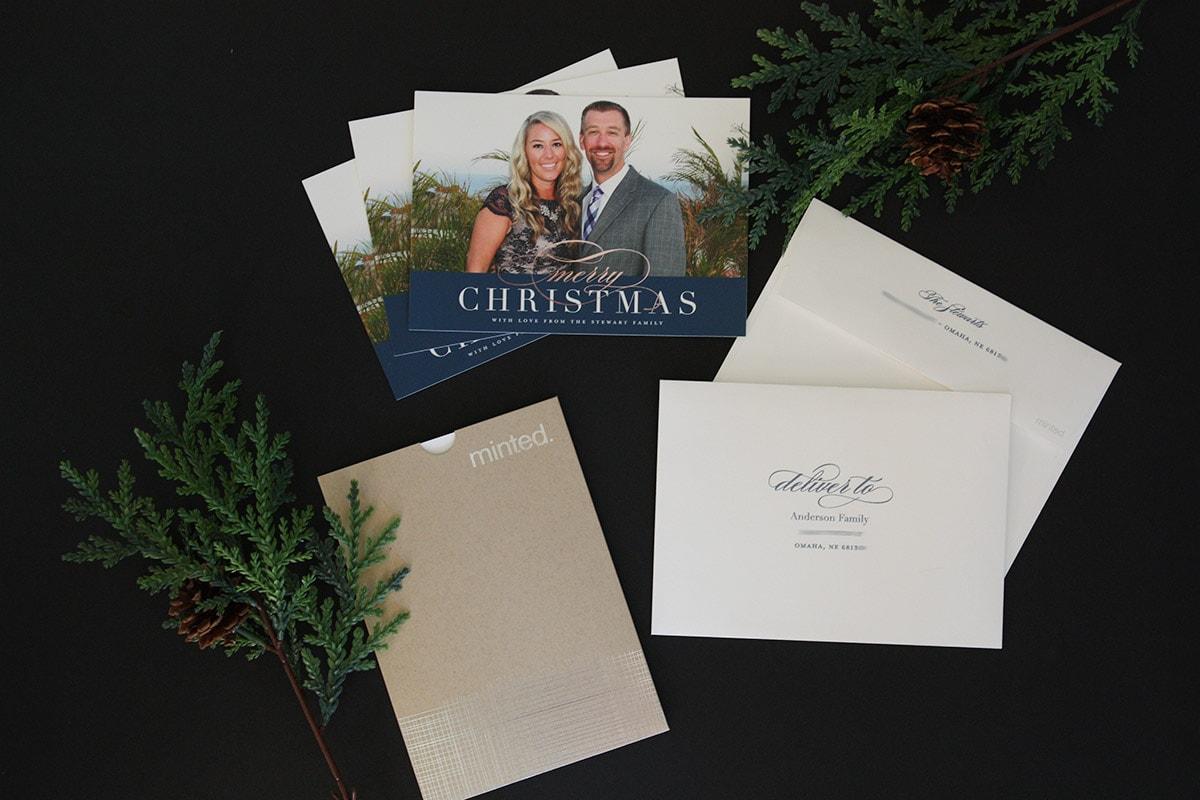Minted Christmas Card : Happy Holidays!   Life on Virginia Street