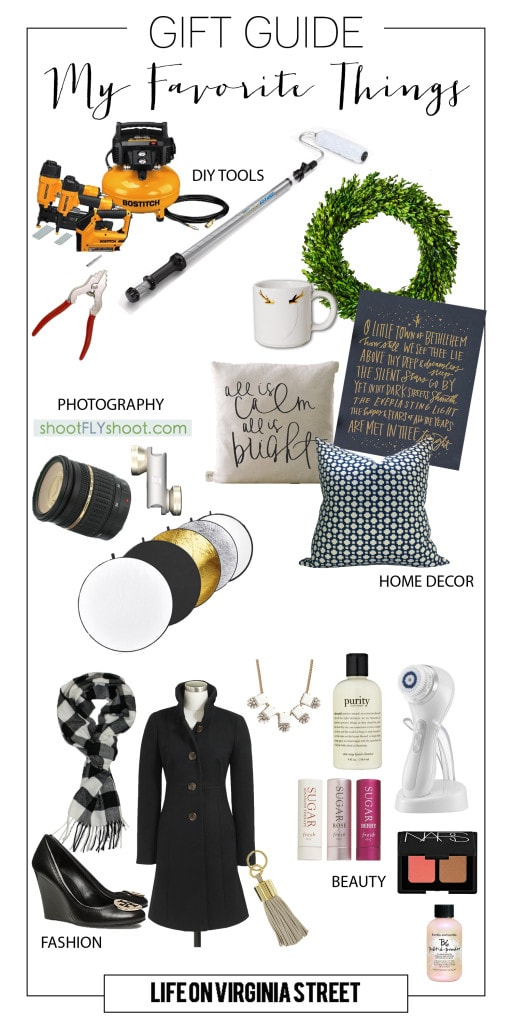 My Favorite Things Gift Guide - Life On Virginia Street